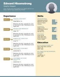 Career Diagram Resume Template