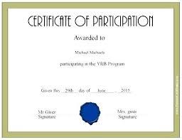 Fun Run Certificate Template Finisher Certificate Of Participation Sample Content New Fun