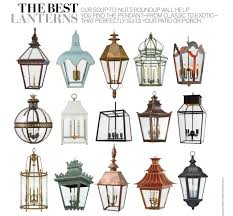 Outdoor Lights And Lanterns Lantern Roundup And We Are There Home Lighting Exterior