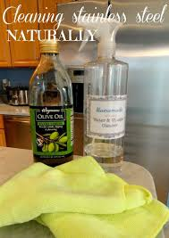 Rachel's Nest: Cleaning stainless steel appliances: Many say this is the  best way to clean stainless steel. Use olive oil or mineral oil to make  them look ...