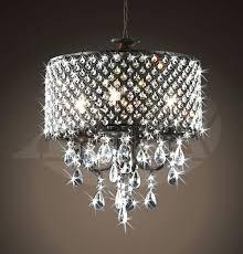 oak leaf chandelier 4 light round antique bronze brass crystal pendant charles saunders