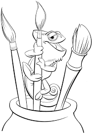 Small Picture Tangled Coloring Pages Printable Coloring Coloring Pages