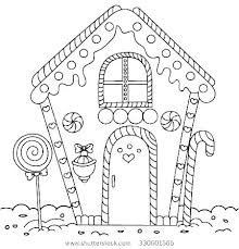 Gingerbread Coloring Pages Free Gingerbread Coloring Pages Houses