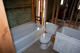 indoor plumbing added