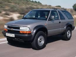 CHEVROLET Blazer 3 doors specs - 1995, 1996, 1997, 1998, 1999 ...