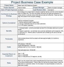 Business Case Example Under Fontanacountryinn Com