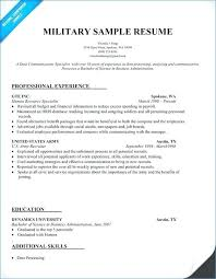 Military To Civilian Resume Examples Simple Veteran Resume Template Veteran Resume Template Charming Resume