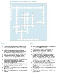 Heart Chart Crossword This Is An Example Of A Crossword Puzzle From The Chief