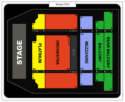 Bergen Pac Seating Chart Bergen Performing Arts Center Seating Chart Ticket Solutions