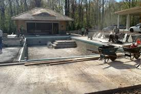 the cost to install an inground pool varies on what pool features have been added