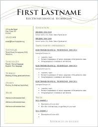 Free Downloadable Resume Templates For Word 2010 With Resume ...