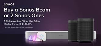 Sonos Hue Lights Claim 135 Worth Of Philips Hue Smart Lighting With Sonos