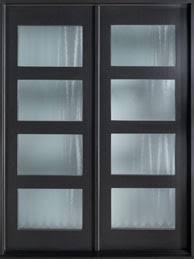 modern front double doors. Modern Front Door, Design: Double, Euro Technology Mahogany Wood Veneer With Espresso Finish, Modern, Model: GD-EMD-823 DD CST By Glenview Doors Double