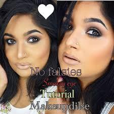 bollywood indian celebrity kajol mukharjee beauty inspired smokey eyes makeup tutorial nowchic
