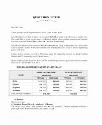 Quotation Letter Sample In Doc Amazing 48 Sample Price Proposal And Quotation Letter Ambfaizelismail