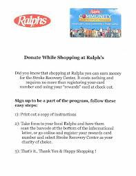 here to the letter with barcode to take with you to ralphs to register or registar at ralphs