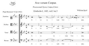 ave verum corpus sheet music byrd ave verum corpus choral sheet music download