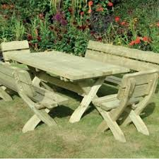 kdm country garden table chairs set