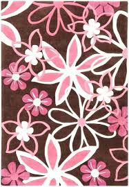 pink and brown area rug brown and pink rugs details about kids pink brown area rug flowers fl bedroom garden decor nursery carpet chocolate brown and