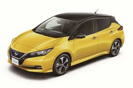 2018 nissan leaf colors. simple leaf new nissan leaf 2018 yellow black roof to colors