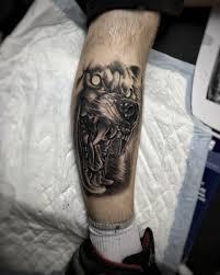 Tetování Vlkodlak Tetování Tattoo