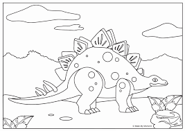 Kleurplaat Dinosaurus Kids N Fun 23 Kleurplaten Van Dinosaurussen
