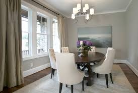 dining room gray. tufted dining chairs room gray