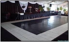 Black And White Dance Floor Rental Near Me