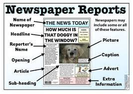 Newspaper article examples ks2 (page 1) persuasive newspaper articles examples ks2 eyfs ks1 ks2 newspapers these pictures of this page are about:newspaper article examples ks2 this would make a fantastic wall display to show the story as it unfolds. The Newspaper Reports Teaching Pack Articles For Kids News Articles For Kids Newspaper Report