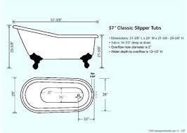 clawfoot tub dimensions. Small Clawfoot Tub Dimensions X With .