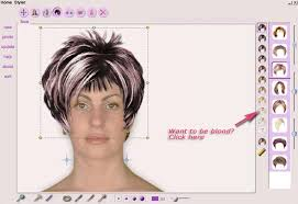 virtual hairstyle makeover
