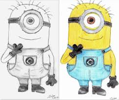 minion drawing gallery