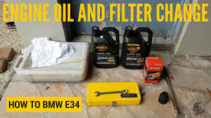 BMW Convertible 1994 bmw 325i oil type : How to Change Your Engine Oil and Filter - BMW E34 - YouTube