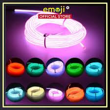 Dây đèn LED neon trang trí, bộ 4 sợi 1.5m, đường kính 5mm | Trang trí nhà  cửa, party, phòng làm việc, giải trí tại TP. Hồ Chí Minh