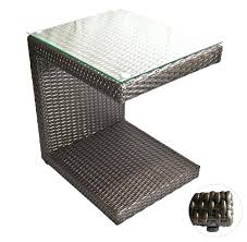 brown rattan coffee table innovative wicker accent table outdoor lounge tables zuma wicker side table espresso