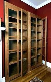 bookshelf with glass doors white bookcase with glass doors bookcase glass doors bookcases with design bookshelf with glass doors