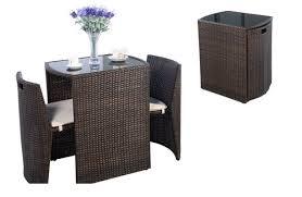 outdoor wicker dining set furniture