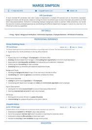 Hr Coordinator Cv Sample Hr Coordinator Resume Sample By Hiration