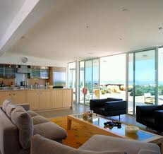 View in gallery Gorgeous beach house with sliding glass doors for ample  views
