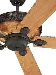 ceiling fan rustic knotty pine fans hunter western for cape outdoor