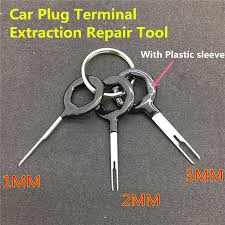 online get cheap connector pin removal tool aliexpress com auto car plug circuit board wire harness terminal extraction pick connector crimp pin back needle remove tool set