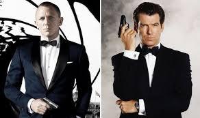 James Bond Daniel Craig And Pierce Brosnan Back Female 007