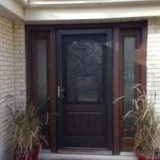 worthy front d front door screen door retractable garage door screen