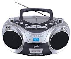 10Supersonic SC2711 BT Radio/CD Player Boombox Top 10 Best Boomboxes of 2019 - Reviews