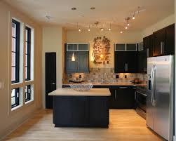 stylish track lighting. Kitchen Track Lighting Ideas Stylish Fancy For Interior Design And Divine Photo K