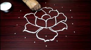 latest simple flower rangoli designs with dots for beginners easy kolam designs for diwali