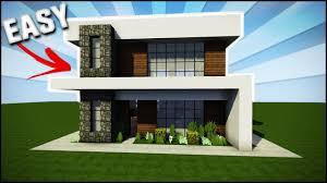 simple modern house. Minecraft House Tutorial: Easy/Simple Modern - Best Tutorial Simple