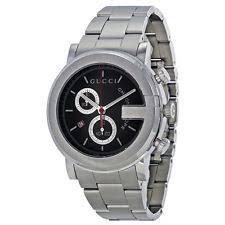 gucci 101 g ya101309 wrist watch for men gucci men s ya101309 g chrono chronograph stainless steel watch