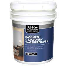 BEHR Premium  Gal Basement And Masonry Waterproofing Paint - Exterior waterproof sealant