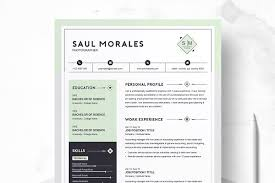 Cv Resume Template Gorgeous Resume Templates Creative Market